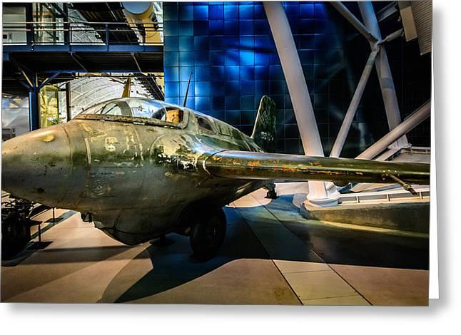 Me 163 B-1a Komet Greeting Card by Randy Scherkenbach