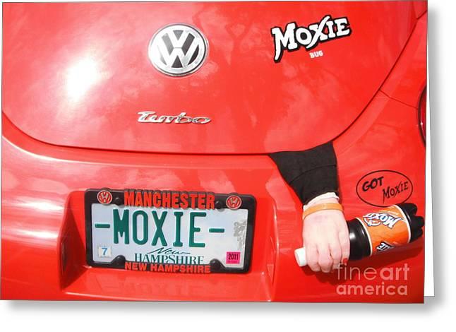 Moxie Power Greeting Card