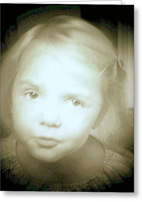 Greeting Card featuring the photograph Me Too by Shirley Moravec