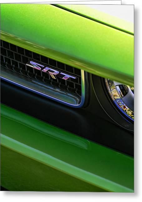 Mean Green Srt Greeting Card by Gordon Dean II