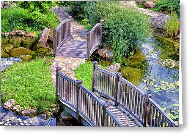 Meandering Pathway Greeting Card