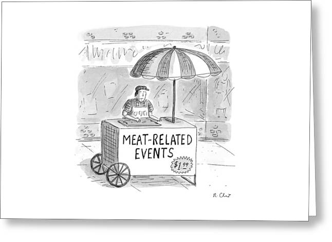 Meat-related Events Greeting Card