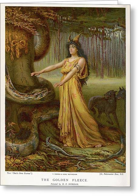 Medea, Daughter Of Aeetes King Greeting Card by Mary Evans Picture Library