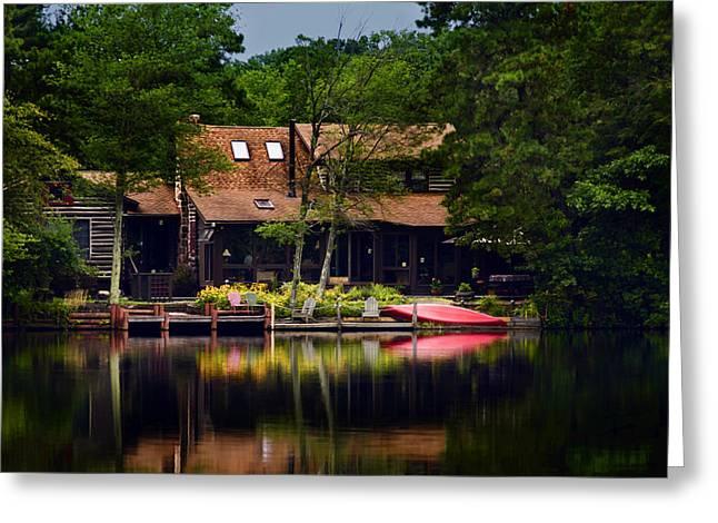 Medford Lakes I Greeting Card