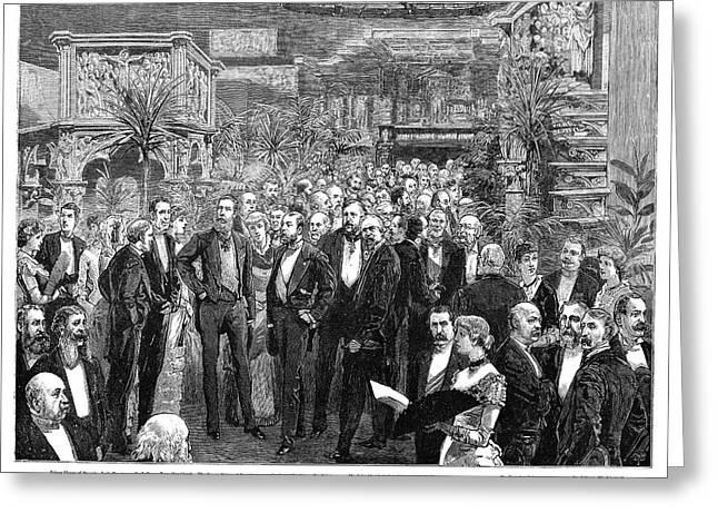 Medical Congress, 1881 Greeting Card