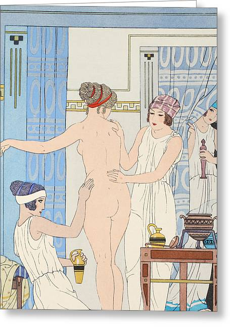 Medical Massage Greeting Card by Joseph Kuhn-Regnier