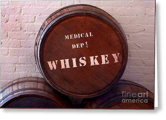 Medical Wiskey Barrel Greeting Card