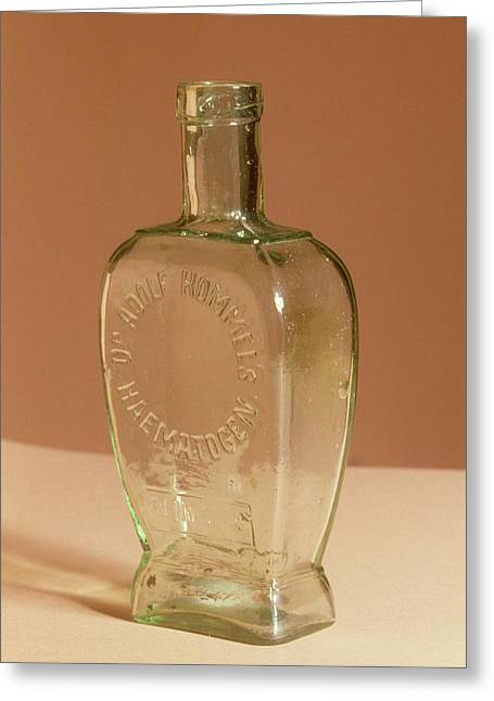Medicine Bottle Greeting Card by Science Photo Library