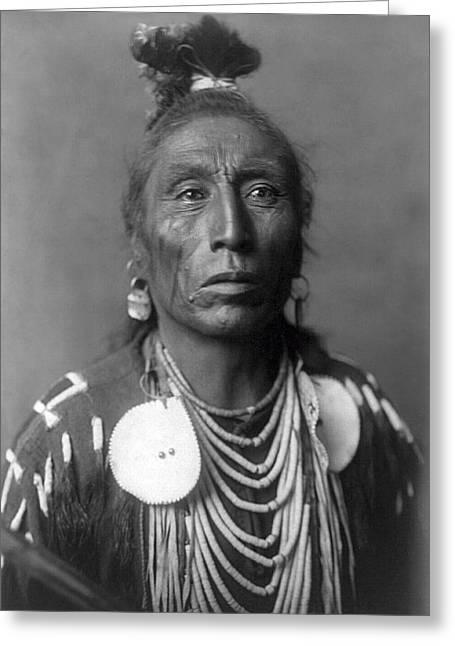 Medicine Crow  1908 Greeting Card by Daniel Hagerman