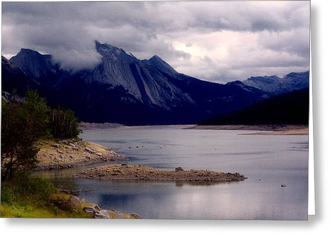 Medicine Lake Greeting Card