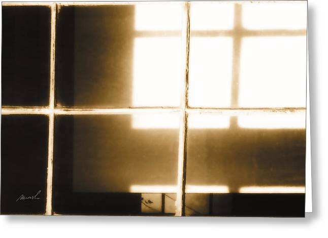 Meditation In Sunlight 14 Greeting Card by The Art of Marsha Charlebois