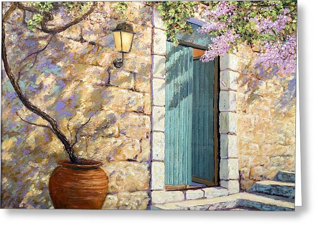 Mediterranean Scent Greeting Card