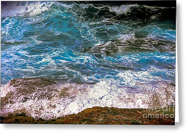 Mediterranean Sea Greeting Card