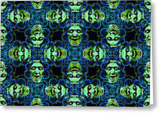 Medusa Abstract 20130131p90 Greeting Card by Wingsdomain Art and Photography