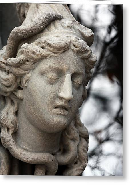 Medusa Head Greeting Card