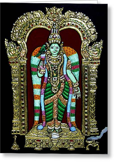 Meenakshi Amman Greeting Card