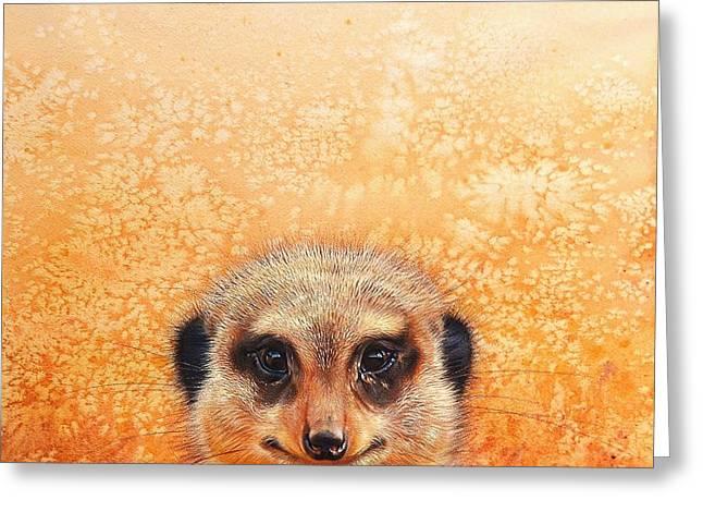 Meerkat's Smile Greeting Card