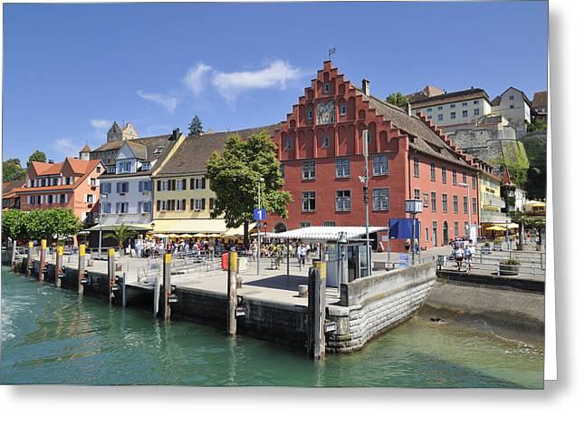 Meersburg Lake Constance Germany Greeting Card by Matthias Hauser