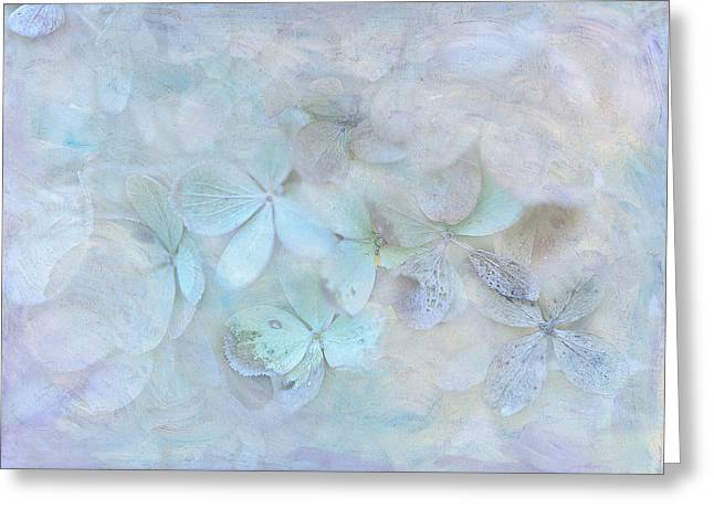 Meet Me In Petals Greeting Card