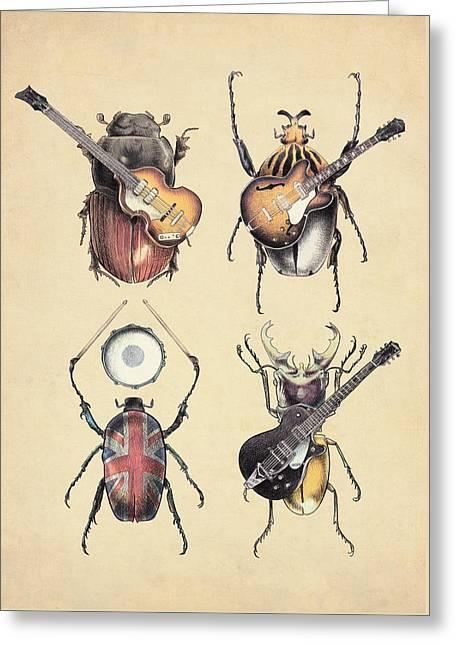 Meet The Beetles Greeting Card