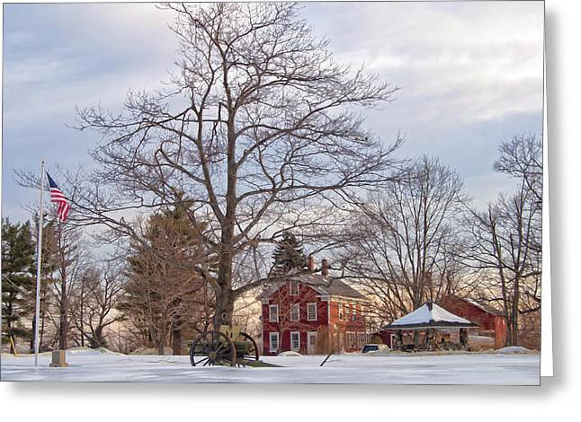 Meetinghouse Hill Greeting Card
