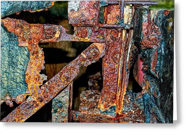 Mega-rust Series Two Greeting Card