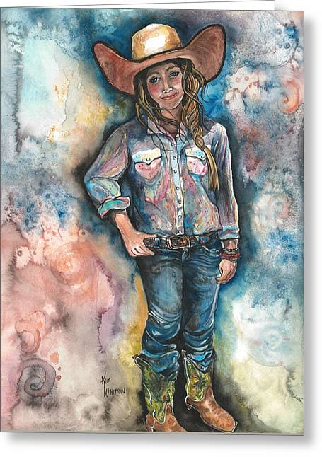 Little Britches Greeting Card