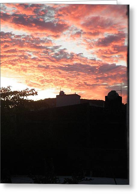 Greeting Card featuring the photograph Melaque Sunset by Brian Boyle