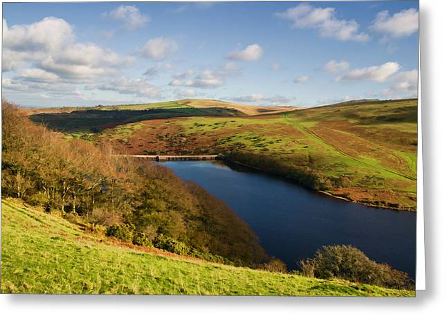 Meldon Reservoir On Dartmoor Greeting Card