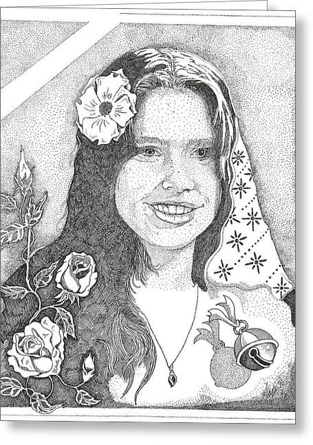 Melinda Greeting Card