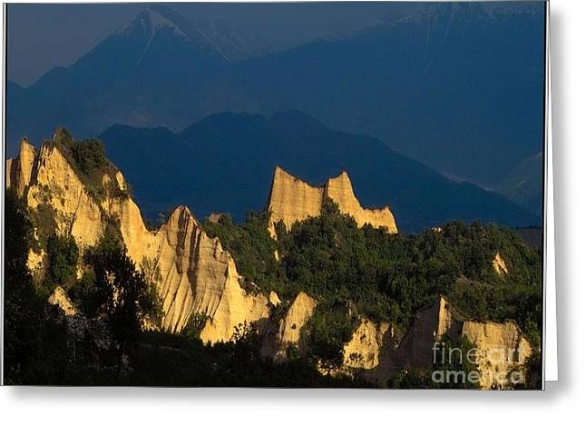 Melnik Pyramids Mp1 Greeting Card by Pemaro
