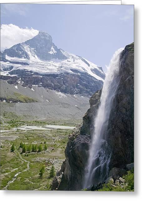 Melting Glaciers Greeting Card