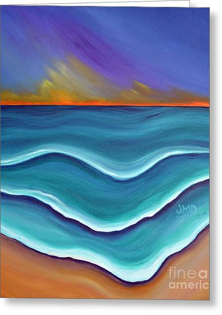 Melting Greeting Card by Janice DeAngelis