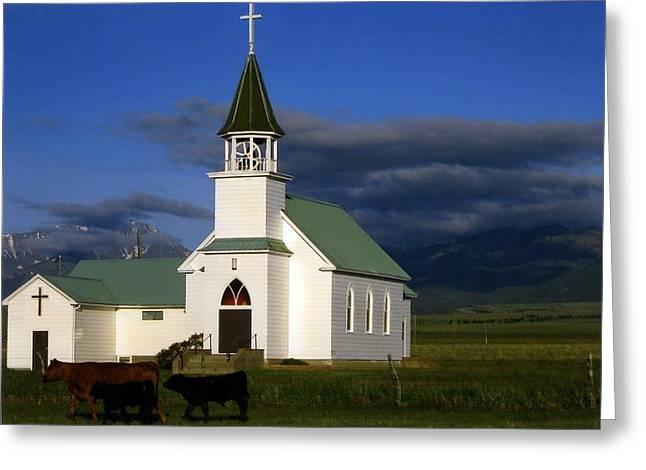 Melville Montana  Greeting Card