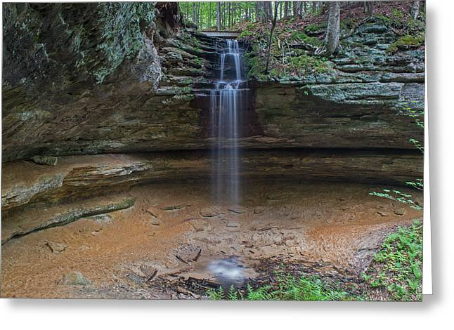 Memorial Falls Greeting Card