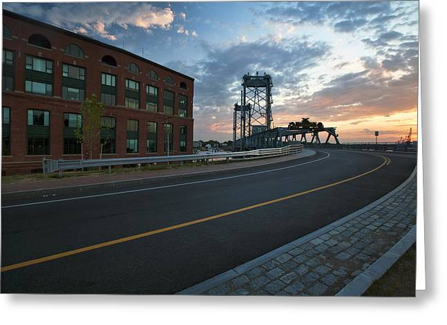 Memorial Sunrise Greeting Card by Eric Gendron
