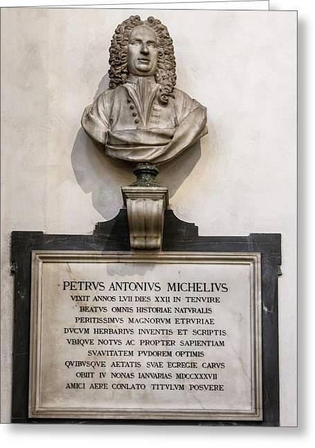 Memorial To Petrus Antonius Michelius Greeting Card
