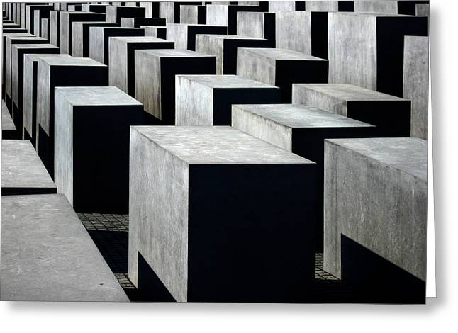Memorial To The Murdered Jews Of Europe Greeting Card by RicardMN Photography