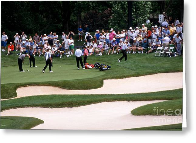 12w192 Memorial Tournament Photo Greeting Card