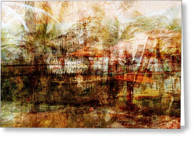 Greeting Card featuring the mixed media Memories #1 by Sandy MacGowan