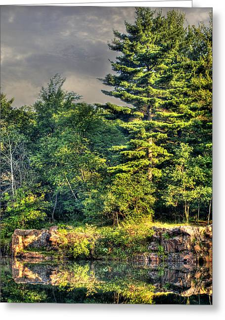 Memories And Reflections Greeting Card