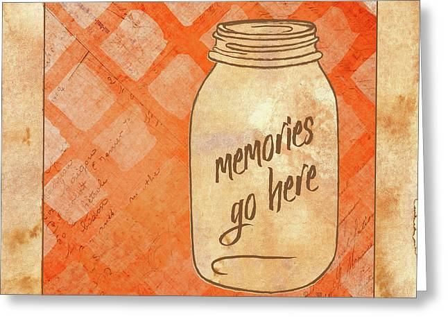 Memories Go Here Greeting Card