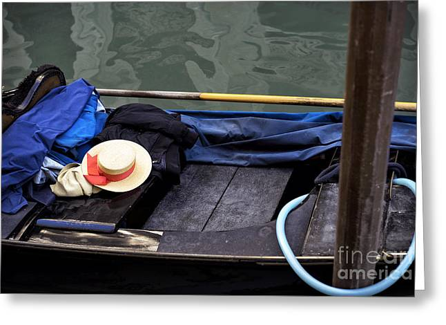 Memories Of A Gondola Ride Greeting Card