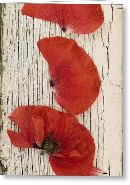 Memories Of A Summer Vertical Greeting Card by Priska Wettstein
