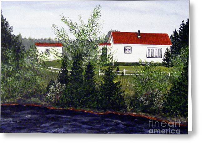 Memories Of Home  Greeting Card by Barbara Griffin