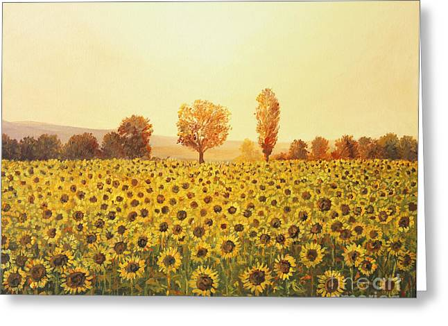 Memories Of The Summer Greeting Card by Kiril Stanchev