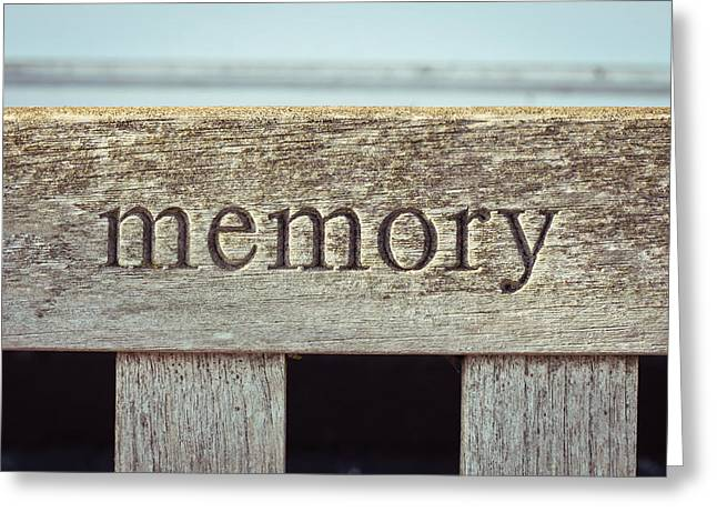Memory Greeting Card by Tom Gowanlock