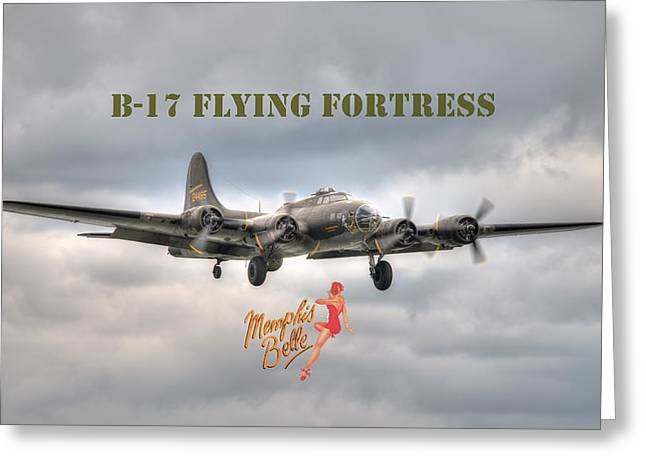 Memphis Belle Greeting Card
