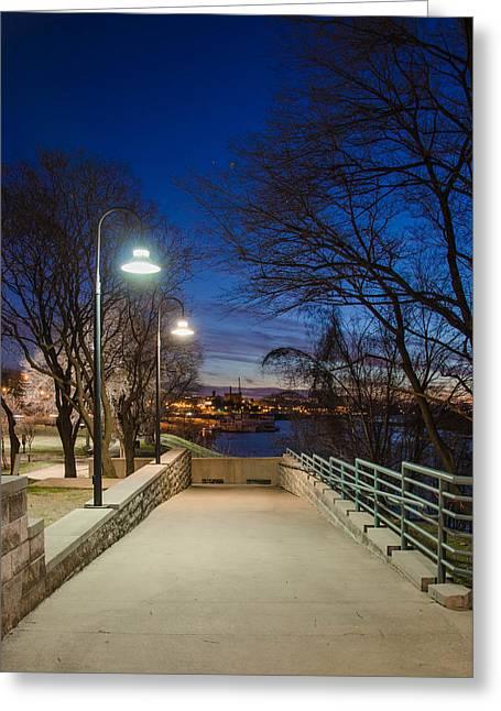 Memphis Riverfront Greeting Card