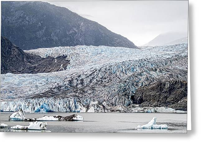 Mendenhall Glacier 1 Greeting Card